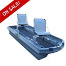 """Boat, Bass Hunter 120 Pro 2 Seater, 120"""" L X 54"""" W X 18"""" D"""