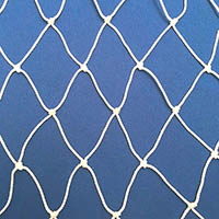 Netting, Seine, #60, 1-1/4 in. sq. mesh, 2-1/2 in. str. mesh, 23-1/2 feet (150 mesh) deep
