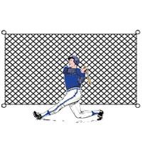 #36 Treated Baseball Backstop 8' x 55'