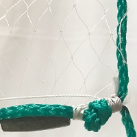 "Mono Gill Net, (509) #6, 2-1/2"" Sq., 5"" Str., 6' Deep, 10' Wide"