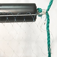 "Mono Gill Net, #3, 3/4"" Sq., 8' Deep, 12 Yards Wide"