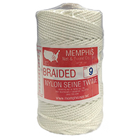 White Braided Nylon Seine Twine