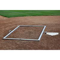 Batter's Box Template, Heavy Duty, Foldable