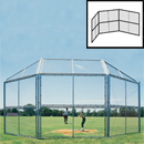 Backstop, Chain Link Panels