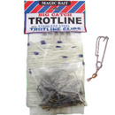 Swiveled Trotline on Winder with Retainers, 150 ft.,