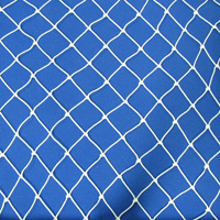 Netting, Seine, #9, 1 in. sq. mesh, 2 in. str. mesh, 8 feet (64 mesh) deepSold by the Lb.