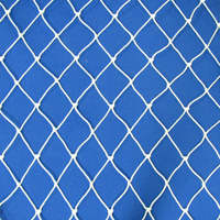 Netting, Seine, #15, 1-1/4 in. sq. mesh, 2-1/2 in. str. mesh, 10 ft. (64 mesh) deepSold by the Lb.