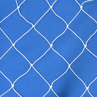 Netting, Seine, #15, 2-1/2 in. sq. mesh, 5 in. str. mesh, 17-3/4 ft. (57 mesh) deepSold by the Lb.