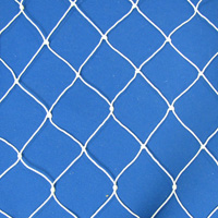Netting, Seine, #18, 3 in. sq. mesh, 6 in. str. mesh, 2-3/4 feet (7 mesh) deepSold by the Lb.