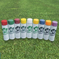 Aerosol Field Paint, Colored, Case