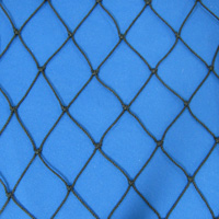 Netting, Seine, Black, #21, 1-7/8 in. sq. mesh, 3-3/4 in. str. mesh, 14 feet (63 mesh) deepSold by the Lb.