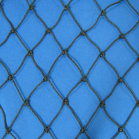 Netting, Seine, Black, #30, 1-7/8 in. sq. mesh, 3-3/4 in. str. mesh, 16 feet (72 mesh) deepSold by the Lb.