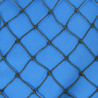 Netting, Seine, Black, #36, 1-7/8 in. sq. mesh, 3-3/4 in. str. mesh, 10 feet (45 mesh) deepSold by the Lb.