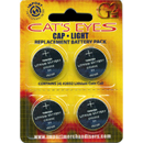 Replacement Batteries for Cap Light, 4 Pack