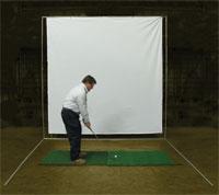 Golf Baffle Screen