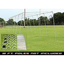 Batting Cage Frame Kit - 70' X 14' X 12'