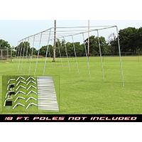 Batting Cage Frame Kit - 70' X 14' X 12'