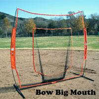 Big Mouth Soft Toss Net, 7 Ft. X 7 Ft. Portable