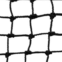 Twisted Knotted Polyethylene Netting, 1-1/8 in. by 1-1/8 in., 50 Ft. DeepSold by the running foot - Hung on the Square