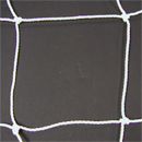 Soccer Goal Nets, 6.5' High, 12' Wide, No Top Depth, 6' Base Depth, White, Pair