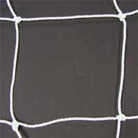 Soccer Goal Nets, 7' H X 21' W, Pair, No Top Depth, 7' Base Depth, White, Pair