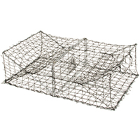 Eel, Crawfish, Flounder & Turtle Trap, 5/16 in Sq. Mesh, 32 in. by 24 in. by 11 in.
