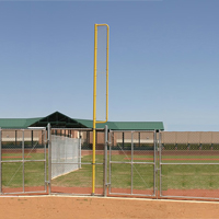 Ground Sleeves for 20 ft. Foul Pole, Pair