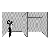Golf Cage, Double Unit Treated (includes net only)