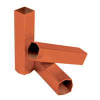 "Ground Anchor 1-3/4"" Sq, (Set of 3)"