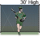 Lacrosse Backstop, 30 ft. High