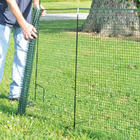 One Step 50 Ft. Temporary Fence Kit