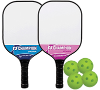 Pickleball Paddle Bundle, Champion Spark