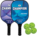 Pickleball Paddle Bundle, Champion Polypro