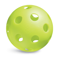 Baseballs, Hollow Poly Ball with Holes, (By the Dozen)