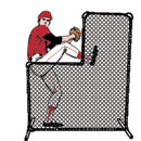 Protector Net & Frame, 7' x 7' with 3-1/2' x 3-1/2' Cutout, with Special Black Weather Coating