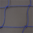 Soccer Goal Nets, 8' H., 24' W., 4' Top Depth, 10' Base Depth, Blue, Pair