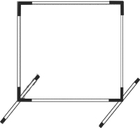 Screen Fittings Only for Softball Backyard Protector Net