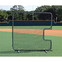 Replacement C-Screen Net For Softball Pitcher'S C-Screen Protective Screen 7'X7'