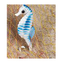 Sea Horse Decoration, 11 in.