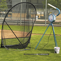 Small-Ball Pitching Machine Package by JUGS