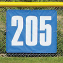 Standard Outfield Distance Marker