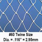 Seine Netting, Twine Size #60
