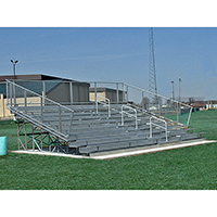 Deluxe Bleachers with Center Handrail