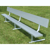 Portable Benches With Backs