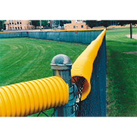 Poly-Cap Protection, 100 Ft., Bright Yellow