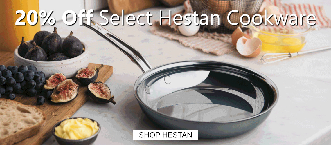 Save 20% off Hestan NanoBond Cookware
