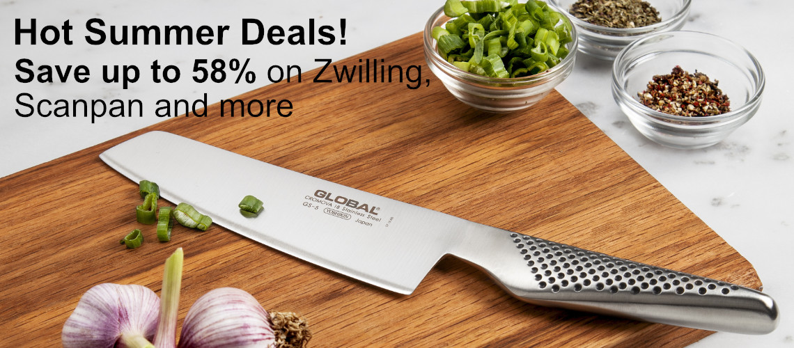 Save up to 58% off Select Cookware & Cutlery