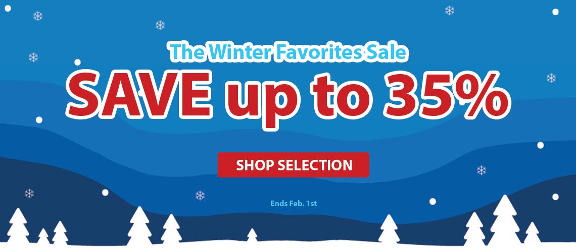 Winter Favorites Sale