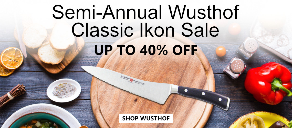 Save up to 40 % off Wusthof Classic Ikon Cutlery