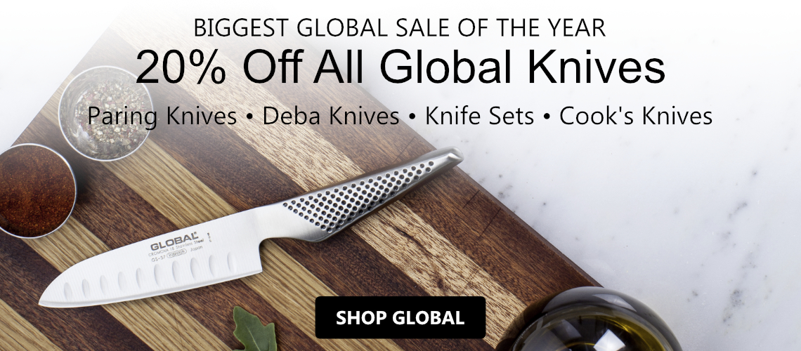 Save 20% off Global Cutlery